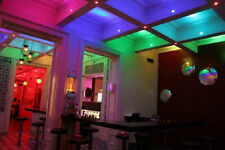 RGB LED Bulb 7 colours mode Spot light India Plug Lamp with IR Remote