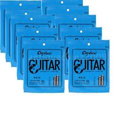 10 PACK Orphee-RX15 REGULAR SLINKY(.009-.042)ELECTRIC GUITAR STRINGS 10 SET S8D6