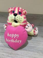 "Bagpuss Cat ""Happy Birthday"" Soft Plush Toy 6"" Golden Bear 2001"