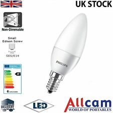 Philips 4W LED Candle E14 Small Edison Screw Frosted Warm White 250Lm, New