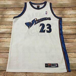 Authentic Nike WASHINGTON WIZARDS Jersey MICHAEL JORDAN Vtg 2001-2002 NBA 52