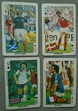DANDY BUBBLE GUM ,, WORLD CUP FOOTBALL ,, CARDS 1986