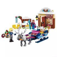 Frozen Elsa - Anna building blocks Jiego JG302 Dream Princess 6-12 years 208+pcs