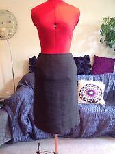 """HOBBS linen mix skirt size 8, 36, 23"""" long, Excellent worn once."""