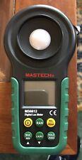 MASTECH MS6612 Pro Multi Function Luxmeter Light Meter Foot Candle Auto Range
