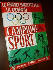 ALBUM PANINI CAMPIONI DELLO SPORT 1966 QUASI COMPLETO - BELLO !