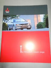 Mitsubishi Galant range brochure Jan 1999