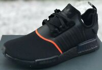 ADIDAS ORIGINALS NMD_R1 BOOST SHOES CORE BLACK / SOLAR RED EE5085 NEW MENS