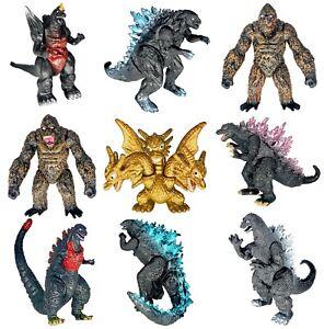 Brand New Set of 9 Godzilla Toys vs King Kong Action Figures Birthday Gift 2021