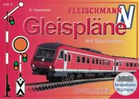 FLEISCHMANN 81399 Gleispläne mit Stücklisten für Bettungsgleis Spur N 1:160 NEU