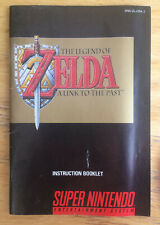 The Legend Of Zelda - A Link To The Past - Instruction booklet (inglés)