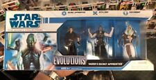 STAR WARS EVOLUTIONS VADER'S SECRET APPRENTICE Galen Marek 3 Figure Set C Pics