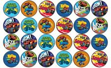 48 x 3cm Blaze and The Monster Machines Cup Cake Toppers Edible Rice Wafer Paper