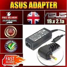 19V 2.1A for Asus EEE Pc 1001HA 1005HA 1008HA Series Netbook Adapter Charger UK