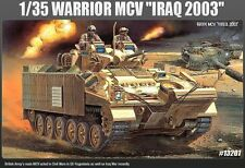 Academy 1/35 Plastic Model Kit WARRIOR MCV 'IRAQ 2003' British Army 13201 NIB