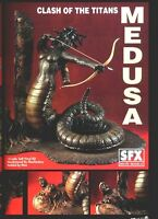 "11""MEDUSA CLASH OF THE TITANS with BASE Fantasy Movies Vinyl Model Kit 1/6"
