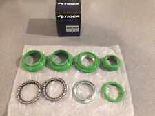 "OLD SCHOOL BMX TIOGA BEARTRAP 2 HEADSET GT LIME GREEN 1"" threaded NEW tange"