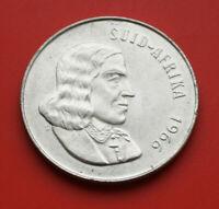 Süd Afrika 1 Rand 1966 Silber KM#71 F#2807 SS-VF