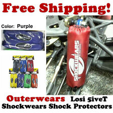 Shockwears Shock Covers by Outerwears for Losi 5ive-T (Purple) 45-2755-07