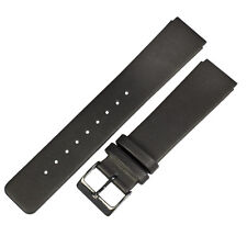 Genuine leather black band to fit 233XLCLB SKAGEN watches
