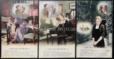 More details for ww1 i hear you calling me bamforth song cards set of 3 no 4890/1/2/3