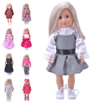 Hot Madame Handmade fashion Doll Clothes dress For 18 inch American Girl DolRDBD