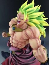 "Dragonball Kai 14"" BROLY 3 WILD STYLE RESIN STATUE With Exclusive Metal Coin DCA"