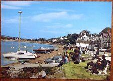 Kippford Solway Firth Scout Dalbeattie Dumfries Galloway Yacht Vintage Postcard