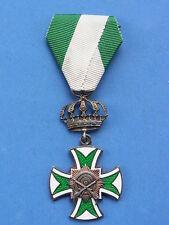 Altes Abzeichen Kreuz echt Silber Jagdkönig 1929