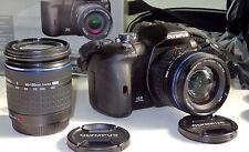 Olympus EVOLT E-510 SLR Digitalkamera + 14-42mm ED + 40-150mm, Zubehörpaket Top