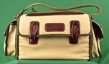 Vintage Coast Canvas and Leather Camera Shoulder Bag