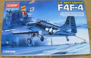 Academy Grumman F4F-4 Wildcat Model Kit 1:72 New & Sealed