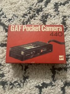 Vintage GAF Pocket Camera 440 With Box - New with Box