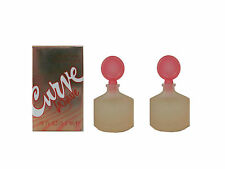 Curve Wave 2 x  5.3 ml Parfum Miniature for Women (New In Box) by Liz Claiborne