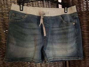 New Without Tags Girls Justice Jean shorts Size 16