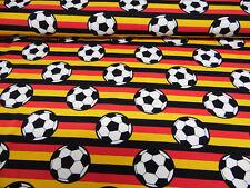 Baumwoll - Jersey - Stoff - Kinderstoff - Erwachsene - Fussball