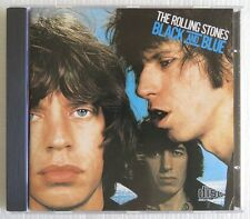 THE ROLLING STONES BLACK AND BLUE CD MADE IN BRAZIL PRESS 1988 WITHOUT BARCODE