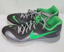 9c5bce30c017 Nike Hyperfuse Low Men s size 8.5 Gray green sneakers lace tie