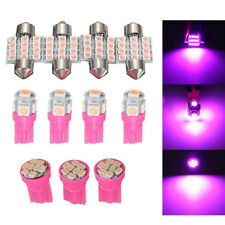 11pcs Purple LED T10 31mm Interior Dome Map Tag Light Lamp Bulbs Package Kit