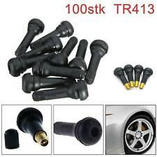 100x TR413 Gummi Ventile / Reifen Ventile auch für AlufelgenSchlauchlos Reifen