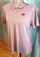 NWT ADIDAS CLIMACOOL Women's Rangewear Golf Polo Shirt Large Gray MSRP $70