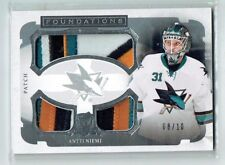 13-14 UD The Cup Foundations  Antti Niemi  /10  Trio Patches