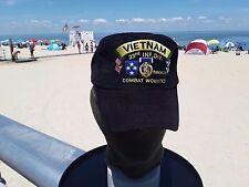 AMERICAL 23RD DIVISION Vietnam veterans  Purple Heart medal ball cap
