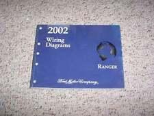 2002 Ford Ranger Electrical Wiring Diagram Manual XL XLT Edge Tremor V6 4Cyl