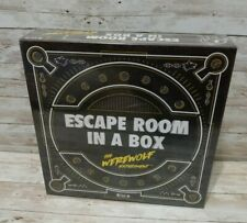 Mattel Games - Escape Room In A Box: The Werewolf Experiment NEW Sealed