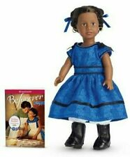 ❄️American Girl Addy Mini Doll w/mini book in Winter Wonderland Gift Box ❄️