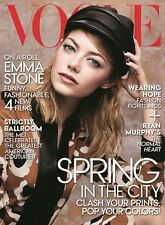 EMMA STONE VOGUE US English VOGUE May 2014 - Celebriy Emma Stone Brand New
