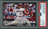 SHOHEI OHTANI 2018 Topps NOW #53 RC Rookie (Angels) PSA 10 GEM MINT
