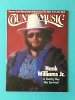 Country Music Mag-–Sep/Oct1986,HANK WILLIAMS Jr, NittyGrittyDirtBnd RosannCash