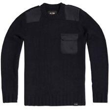 Apc Carhartt Commando Sweater Wool Black Small Orslow Visvim Norse Projects Acne